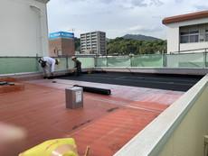 周南市 防水塗装工事イメージ
