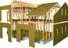 スーパーウォール工法の家イメージ