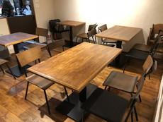 店舗 テーブル作製